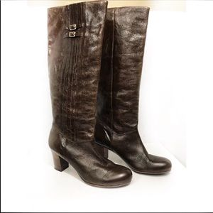 Frye Nora Pleated Boots